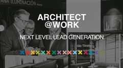 ARCHITECT@WORK introduces next level lead generation by adding a brand new hybrid dimension to all events!